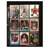 9 Basketball Stars/hof/rookie Cards