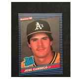 1986 Donruss Jose Canseco Rookie