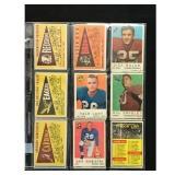 16 Vintage Football Cards