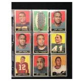 26 1961 Topps Football Cards