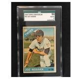 1966 Topps Venezuelan Joe Nossek Sgc 50