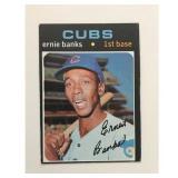 1971 Topps Ernie Banks Card