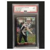 2003 Bowman Chrome Tom Brady Xfractor Psa 9