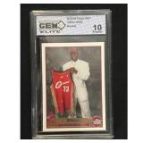 2003-04 Topps Lebron James Rookie Graded 10