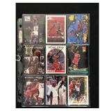 9 Michael Jordan Basketball Cards