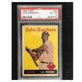 1958 Topps John Roseboro Psa 4