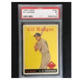 1958 Topps Gil Hodges Psa 5