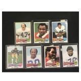 7 1975 Topps Football Stars/hof