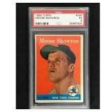 1958 Topps Moose Skowron Psa 5