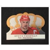 2001 Steve Yzerman Insert Card