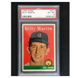 1958 Topps Billy Martin Psa 6