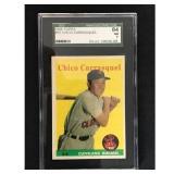 1958 Topps Chico Carrasquel Sgc 84