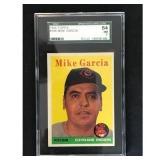 1958 Topps Mike Garcia Sgc 84