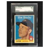 1958 Topps Jim Busby Sgc 84