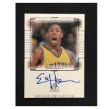 2000 Upper Deck Eddie House Auto Card