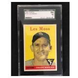 1958 Topps Les Moss Sgc 84