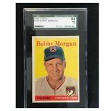 1958 Topps Bobby Morgan Sgc 84
