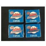 15 Sealed 1987 Baseball Classic Mini Sets
