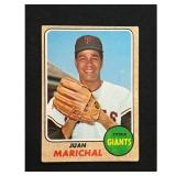 1968 Topps Juan Marichal Card