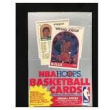 1989-1990 Hoops Full Basketball Wax Box