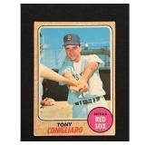 1968 Topps Tony Conigliaro Card