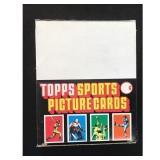 1987 Topps Baseball Full Rack Pack Box