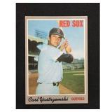 1970 Topps Carl Yastrzemski Card