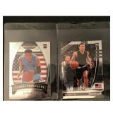 Pair Of Rj Hampton Rookie Cards