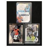 Three Kj Hamler,  Modern Football Rookie Cards