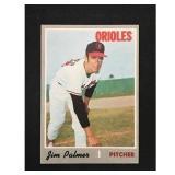 1970 Topps Jim Palmer Card Hof
