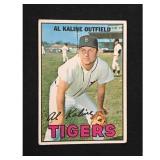 1967 Topps Al Kaline Card Hof