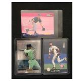 Three Derek Jeter Cards With Rookies