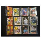 9 1987 Unopened Baseball Rack Packs Topps/donruss