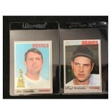 Pair Of 1970 Topps Baseball Stars/hof