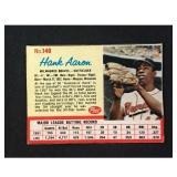 1962 Post Cereal Hank Aaron Card