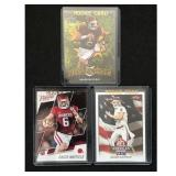 Three Baker Mayfield Rookie Cards