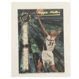 1995-96 Topps Stadium Beam Team Reggie Miller