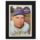 1969 Topps Gil Hodges Card Hof
