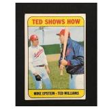 1969 Topps Ted Williams Ted Shows Card