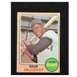 1968 Topps Willie Mccovey Card Hof