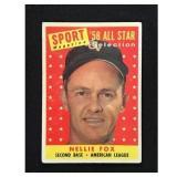 1959 Topps Nellie Fox Allstar