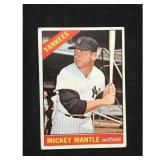 1966 Topps Mickey Mantle Card
