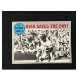 1970 Topps Nolan Ryan Saves The Day