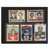 5 1973 Topps Football Cards