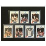 7 Mint Unc Basketball Michael Jordan Cards