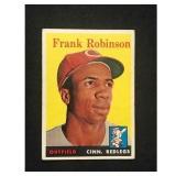 1958 Topps Frank Robinson Card