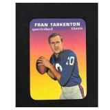 1970 Topps Glossy Fran Tarkenton Card