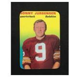 1970 Topps Glossy Sonny Jurgensen