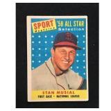 1959 Topps Stan Musial Allstar