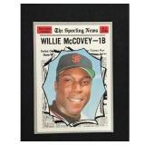 1970 Topps Willie Mccovey Card Hof